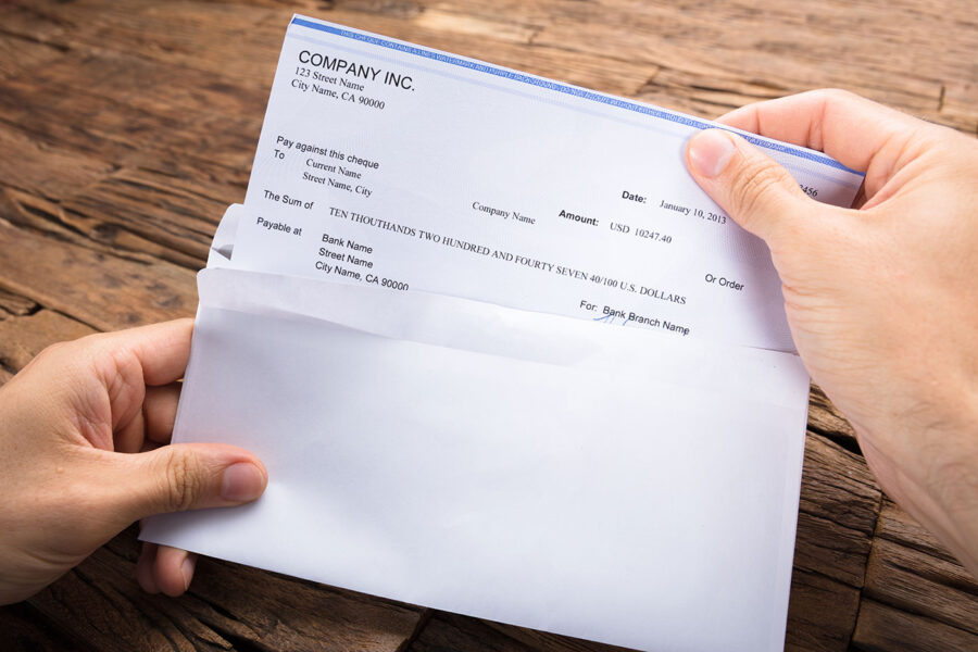 How Long Does It Take for a Check to Clear? article image.