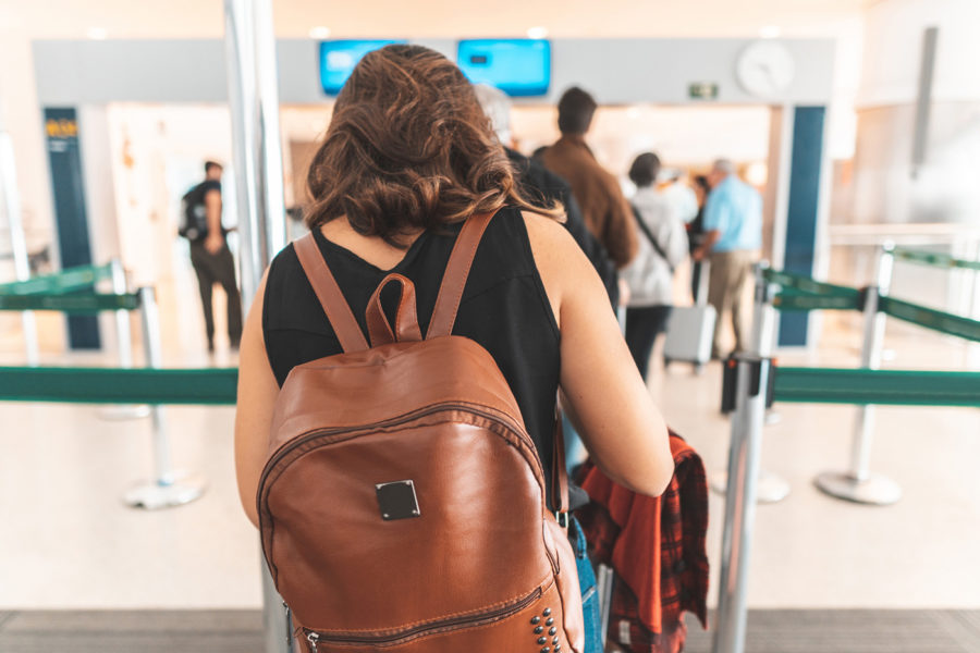 Immigration, Airplane, Airport, Airport Check-in Counter, Journey